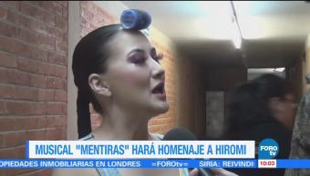 #LoEspectaculardeME: Musical 'Mentiras' hará homenaje a Hiromi