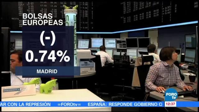 Crisis catalana y resultados corporativos arrastran a las Bolsas Europeas