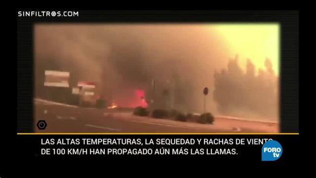 Sin Filtros: Incendios en Galicia