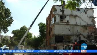 Trece edificios han sido dictaminados para su demolición