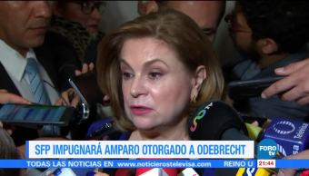 SFP impugnará amparo otorgado a Odebrecht