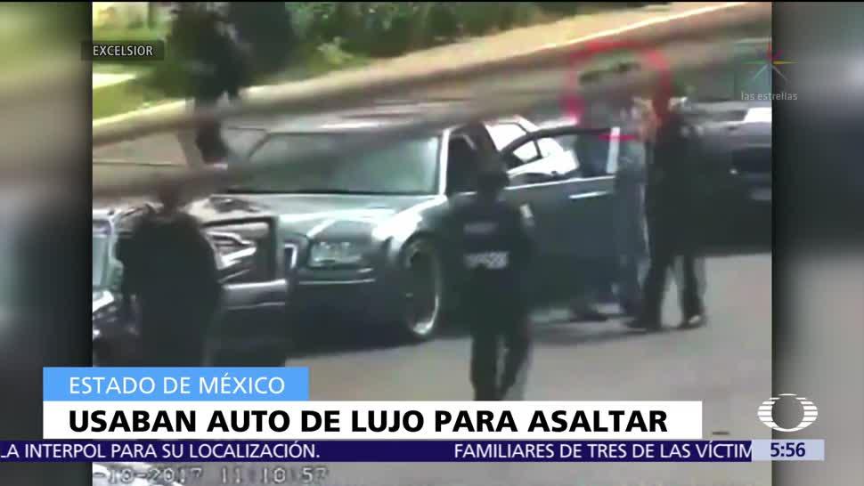 Hombres en auto de lujo asaltan a pasajeros de autobús en Iztapalapa