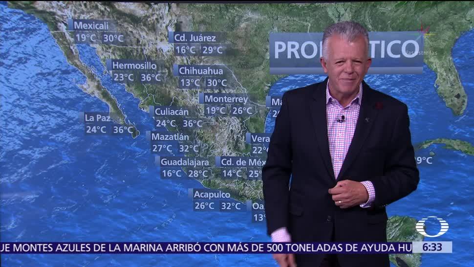 Despierta con Tiempo: Torbellinos en BC, Chihuahua, Coahuila, NL, Tamaulipas y Zacatecas