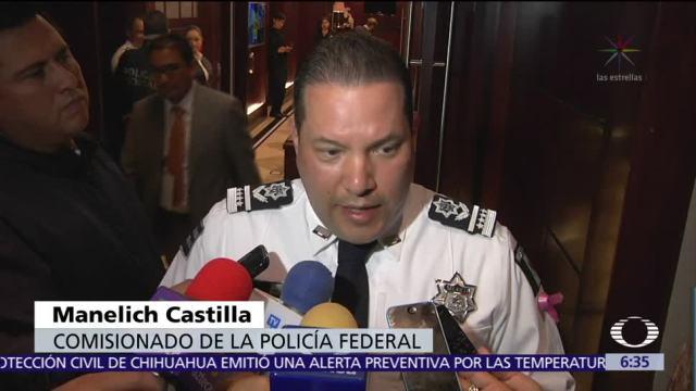 Comisionado de PF afirma que sus elementos no estuvieron involucrados en Nochixtlán
