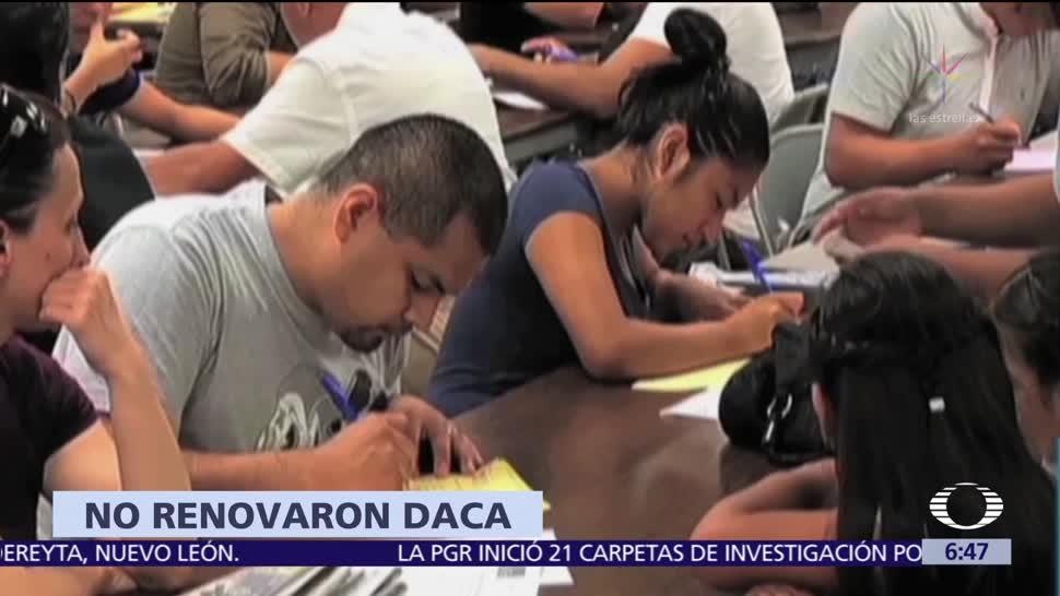 Más de 20 mil dreamers no renovaron su permiso DACA en EU