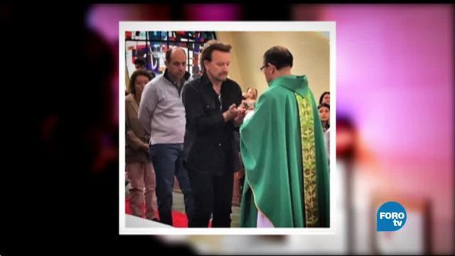 Expressando: Bono sorprende a feligreses de Bogotá