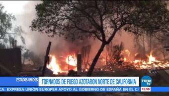 Incendios forestales en California dejan pérdidas superiores a los mil 45 mdd