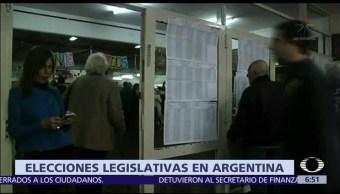 Gobierno de Macri obtiene amplio respaldo en elecciones legislativas