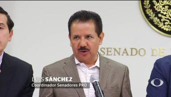 Oposición en el Senado buscan revocar remoción de Santiago Nieto