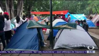 La CNTE regresa al Zócalo de la ciudad de Oaxaca