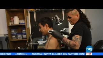 Retratos de México: El trabajo de la tatuadora Alejandra Estrada
