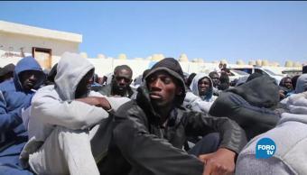 ONU acusa a autoridades libias de tráfico de personas