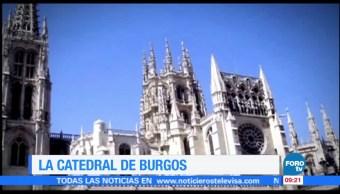 La catedral de Burgos en España