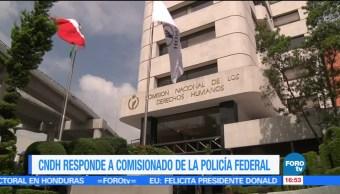 Policía Federal pide se reconozcan derechos humanos de sus elementos