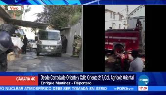 Incendio en la colonia Agricola Oriental deja dos niños muertos y adulto