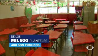 Lento regreso a clases en Morelos