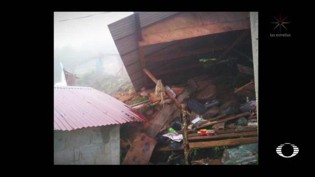 Alud mata a 5 niños en Chiapas