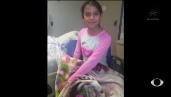 Detienen en EU a niña indocumentada con parálisis cerebral