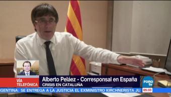 Puigdemont podría convocar a elecciones autonómicas