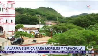 Morelos tendrá alerta sísmica tras el 19 de septiembre