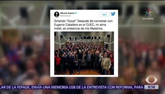 Alfonso Cuarón comparte su regreso al CUEC