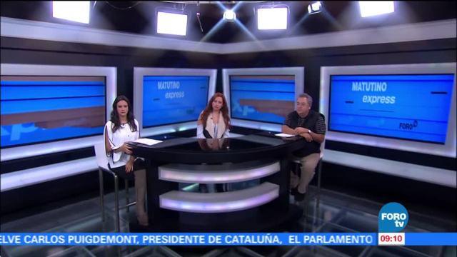 Matutino Express del 26 de octubre con Esteban Arce (Bloque 1)