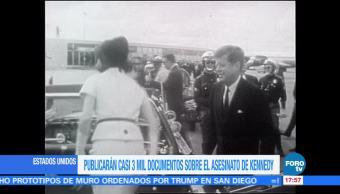 Liberan archivos sobre asesinato de JFK