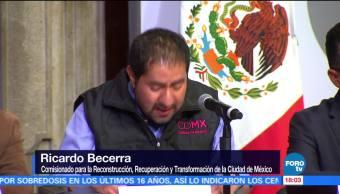 Autoridades capitalinas canalizarán 131 mdp para viviendas dañadas por el sismo