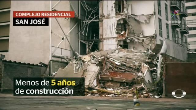 Detienen al dueño y responsable de obra de edificio colapsado en la Portales