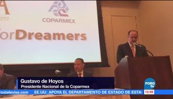 Coparmex presenta iniciativa para apoyar a los dreamers