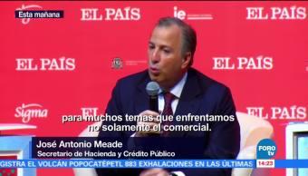 José Antonio Meade destaca acciones para enfrentar incertidumbre de renegociación del TLCAN