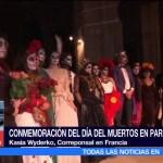 Conmemoran el Día de Muertos en París