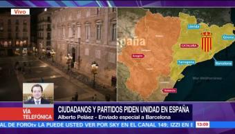 Retiran fotos de Puigdemont de algunos lugares de Cataluña