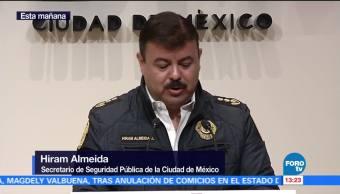 Informe de seguridad sobre eventos realizados en la CDMX