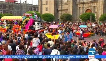 Presencian más de un millón Desfile del Día de Muertos en CDMX