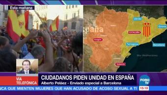 Fiscal general alista presentación de querellas en caso Cataluña