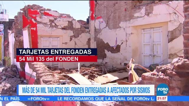Avanza en entrega de apoyos a damnificados por sismo: Bansefi
