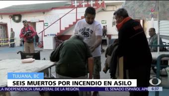 Incendio en asilo de ancianos deja seis muertos