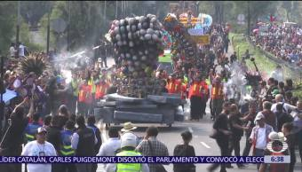 Se lleva a cabo el Segundo Desfile de Día de Muertos