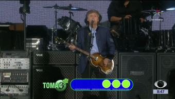 Paul McCartney se presenta por quinta vez en México