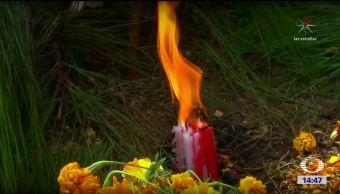 Indígenas tzeltales rinden tributo a sus muertos en Chiapas
