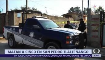Ejecutan a 5 hombres en San Pedro Tlaltenango, Puebla