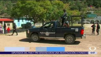 Encuentran 6 cuerpos en Loma Bonita, Oaxaca