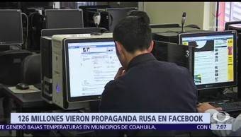 Facebook: 126 millones de estadounidenses vieron propaganda rusa durante campañas