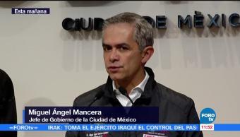 Miguel Ángel Mancera pide flexibilizar las reglas del Fonden