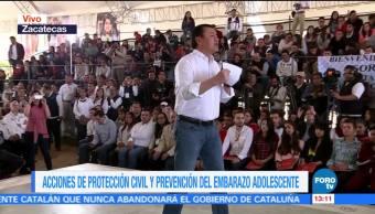 Osorio Chong exhorta a mujeres a denunciar violencia de género