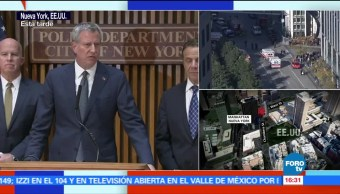 Confirman ataque terrorista en Manhattan, NY