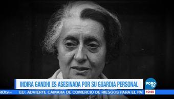 Efeméride En Una Hora: Indira Gandhi