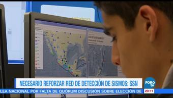 SSN pide reforzar red de detección de sismosSSN pide reforzar red de detección de sismos