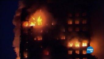 Las secuelas mentales tras el incendio de la torre Grenfell